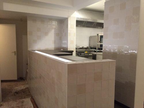 betegeling keuken en bar