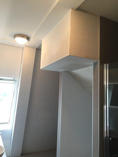 totale badkamer , wc , woonkamer vloer installatie